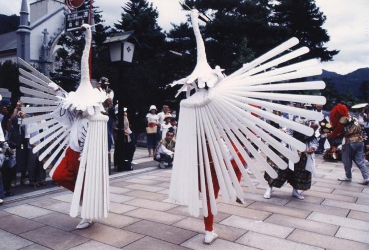 津和野 鷺舞